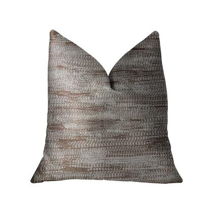 Pretty Oasis Collection PBRA2207-2020-DP Double sided  20 x 20 Plutus Pretty Oasis Brown Luxury Throw