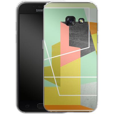 Samsung Galaxy A3 (2017) Silikon Handyhuelle - Color Block II von Susana Paz