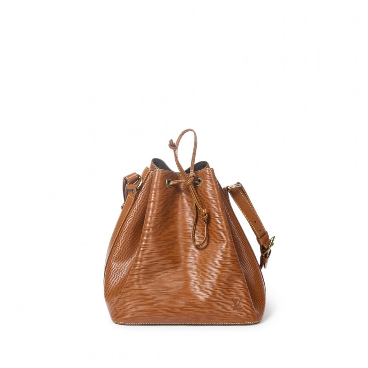 Louis Vuitton \N Handtasche in  Gold Leder