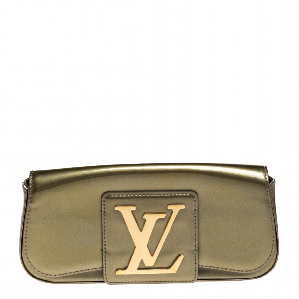Louis Vuitton N Green Patent leather Clutch bag for Women N