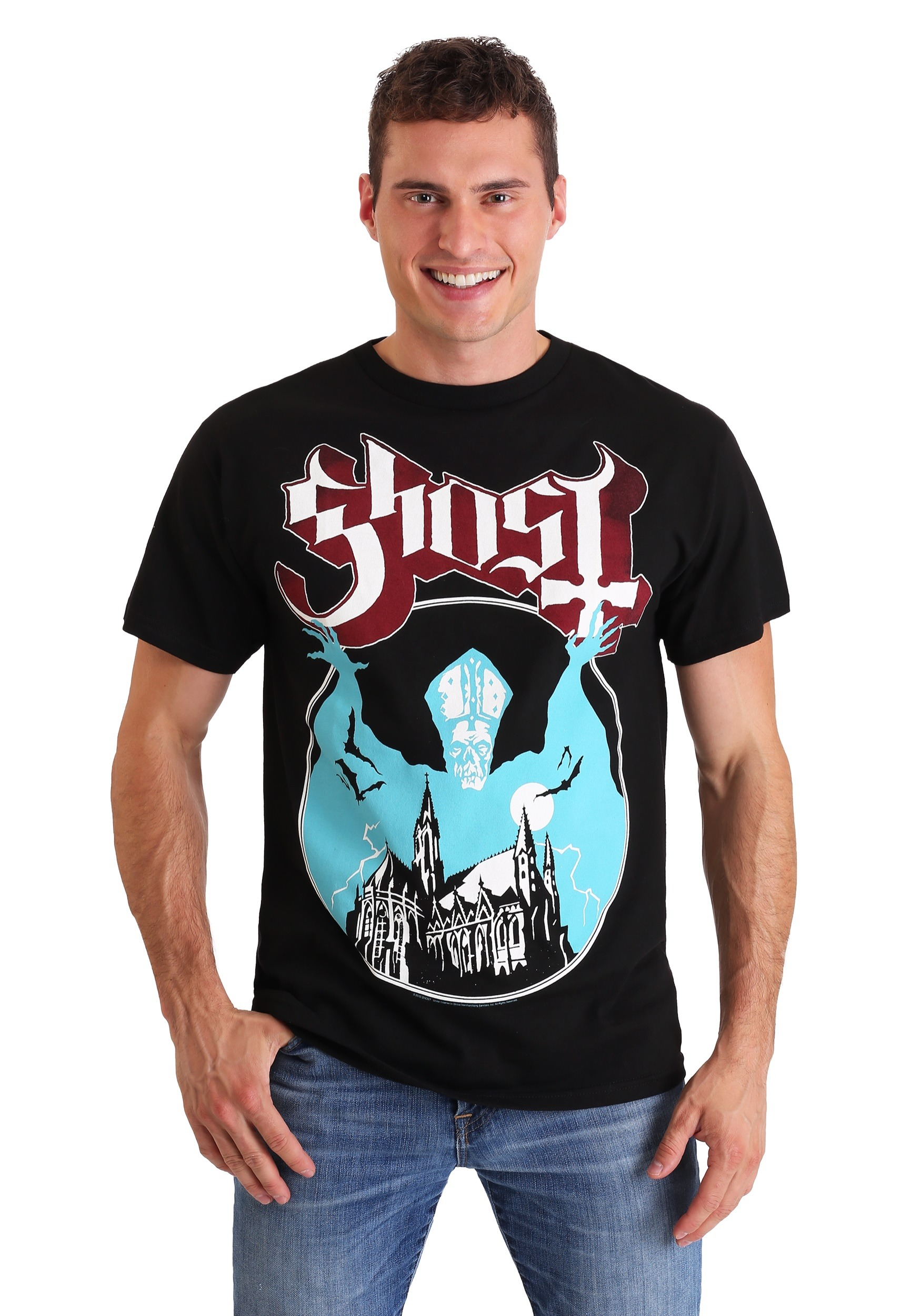 Ghost Opus Black Men's T-Shirt