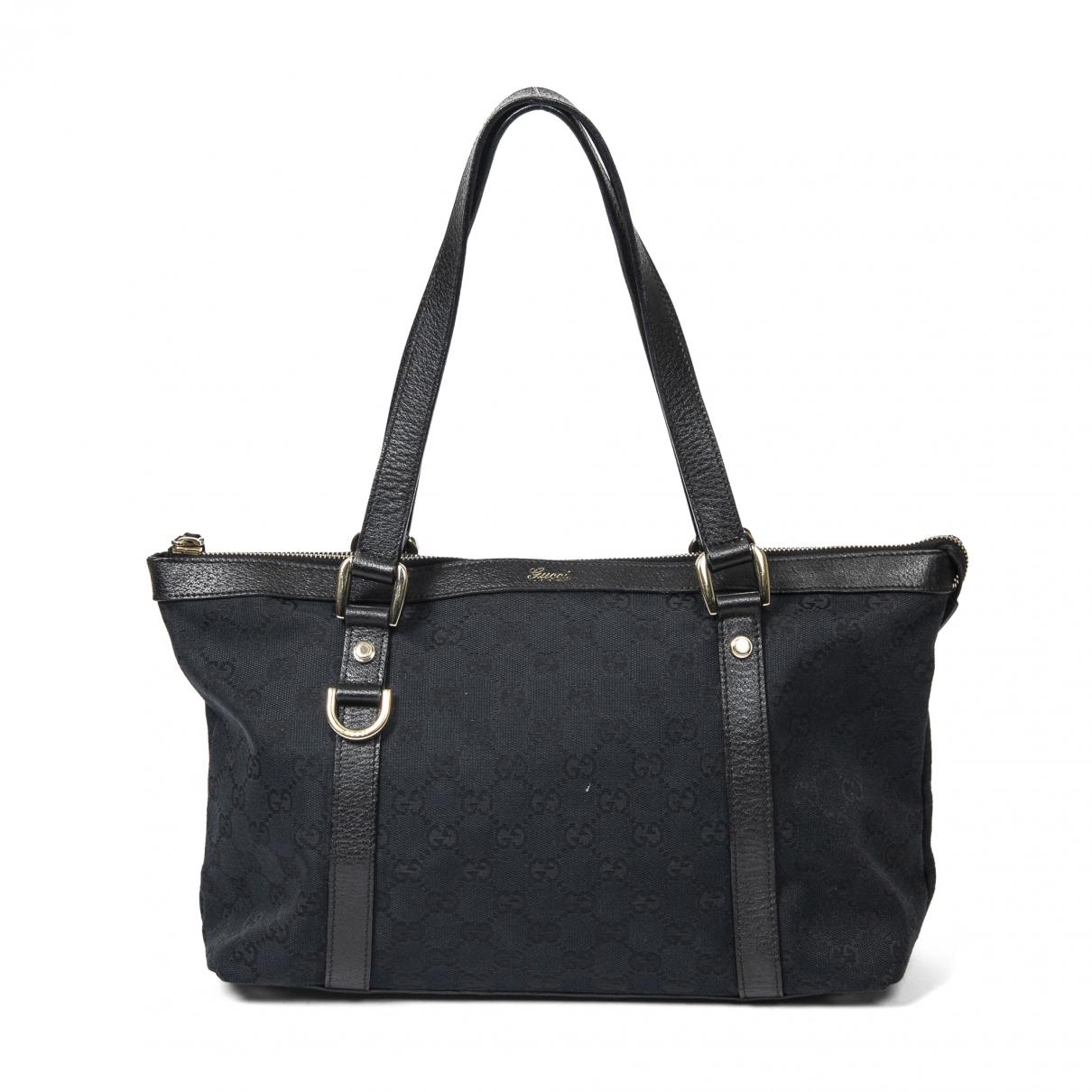 Gucci \N Black Cotton handbag for Women \N