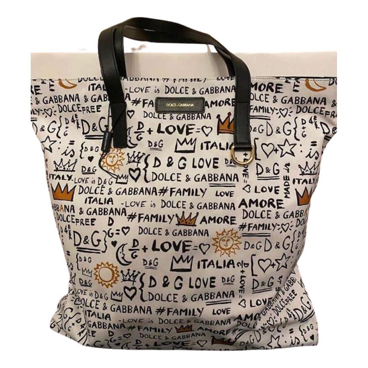 Dolce & Gabbana \N White Cloth handbag for Women \N