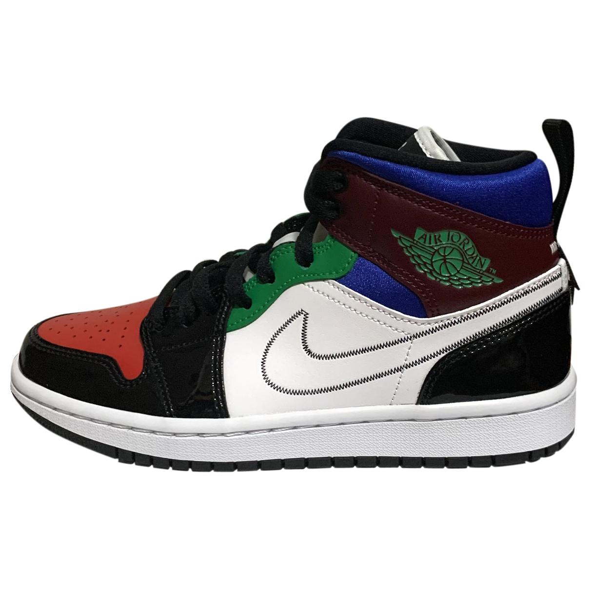 Jordan - Baskets Air Jordan 1  pour femme en cuir