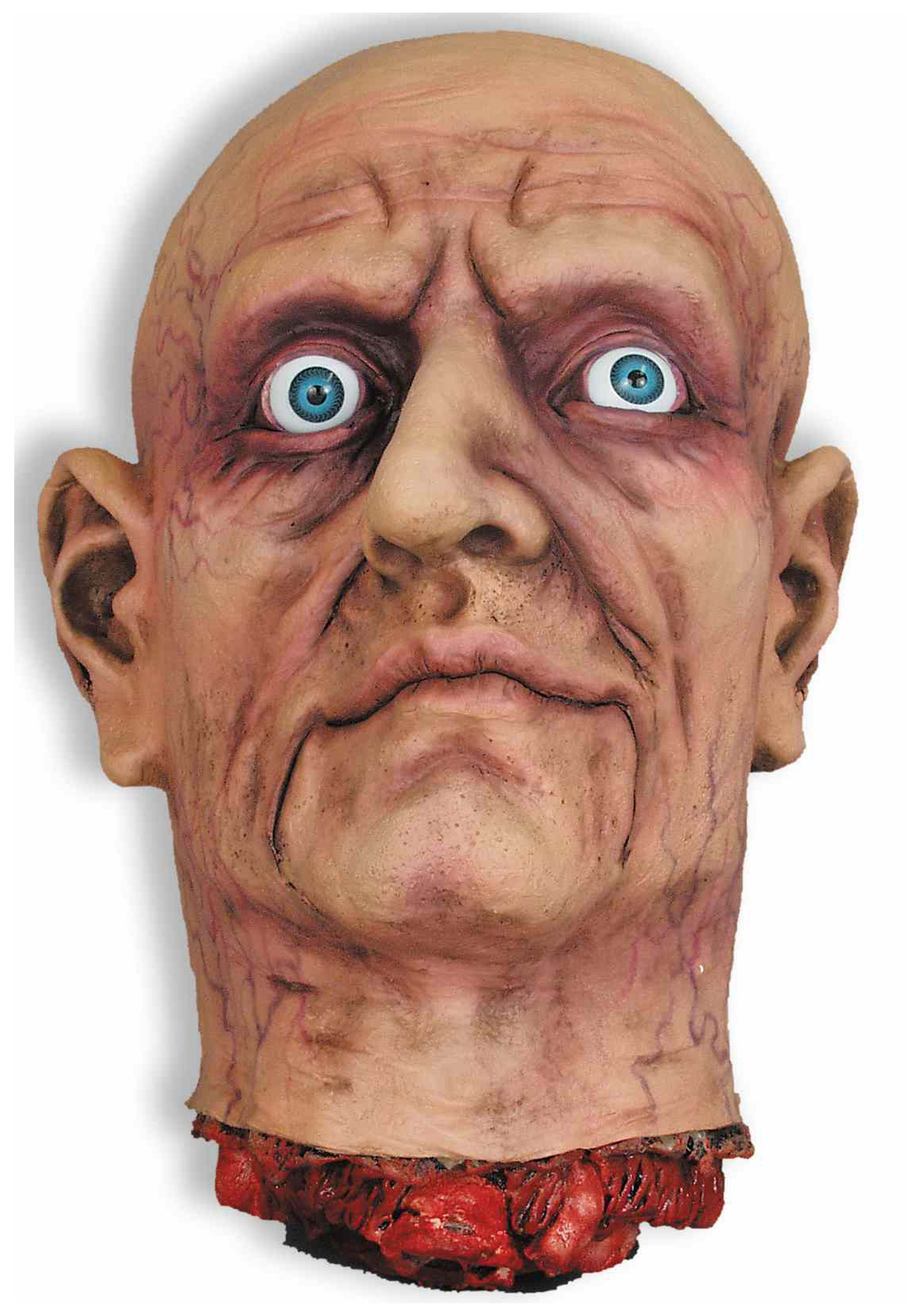 Large Open Eye Cut Off Head - Scary Decorations, Halloween Accessories