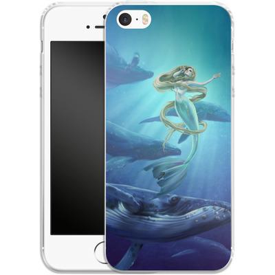 Apple iPhone SE Silikon Handyhuelle - Ocean Song von Selina Fenech