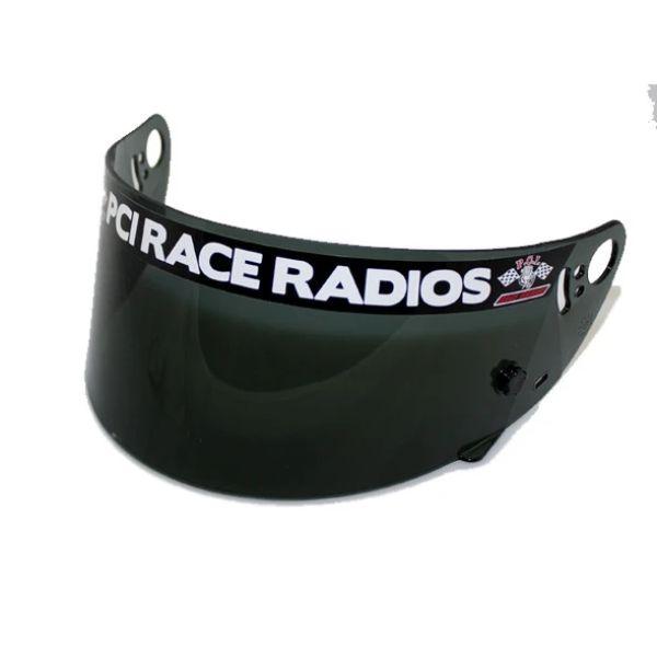 PCI Race Radios PRR1352 HJC SA2005 SA2010 Helmet Shield Smoke