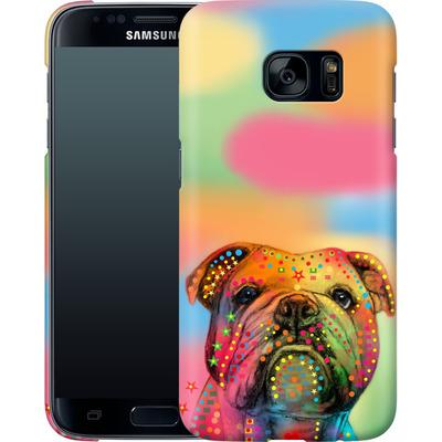 Samsung Galaxy S7 Smartphone Huelle - Bulldog von Mark Ashkenazi