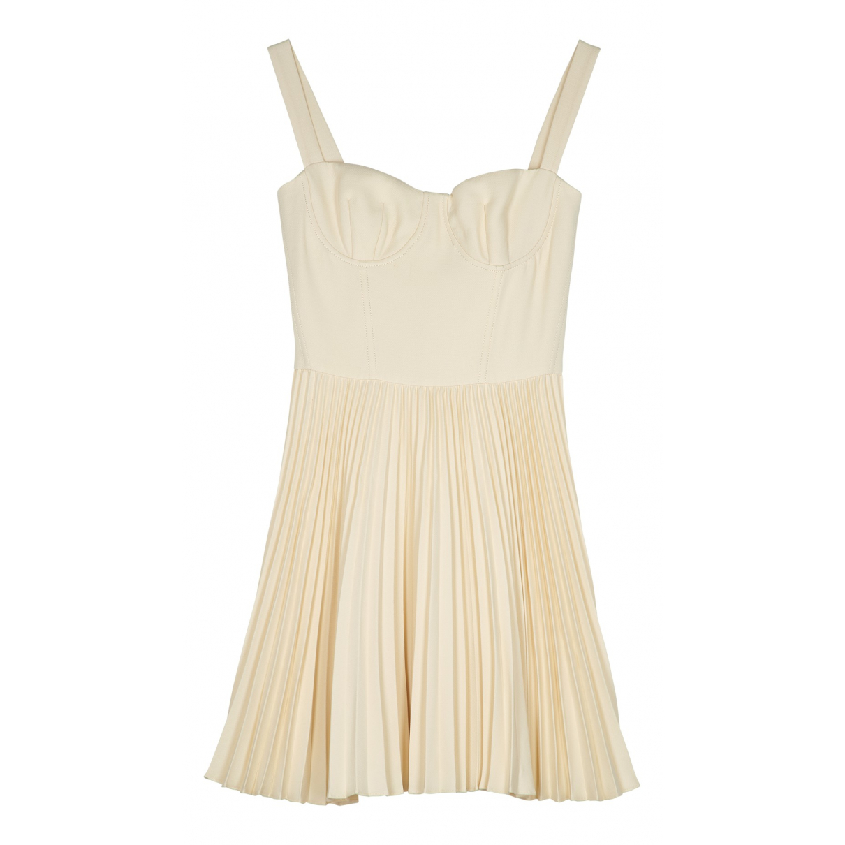 Dior \N Kleid in  Beige Wolle