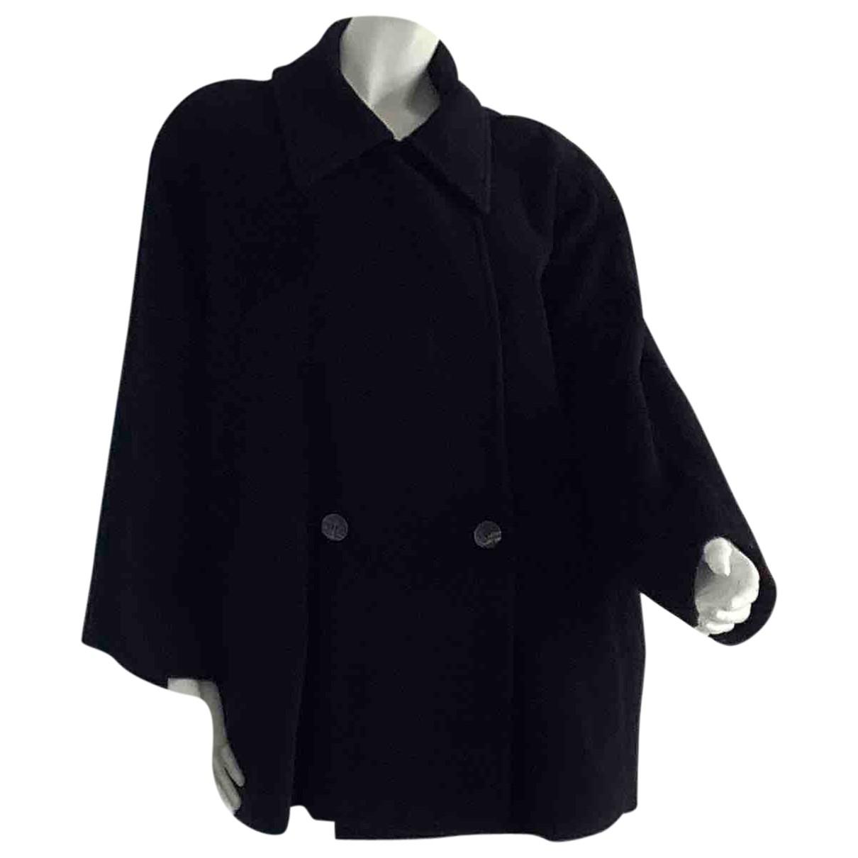 Sport Max - Manteau   pour femme en laine - noir