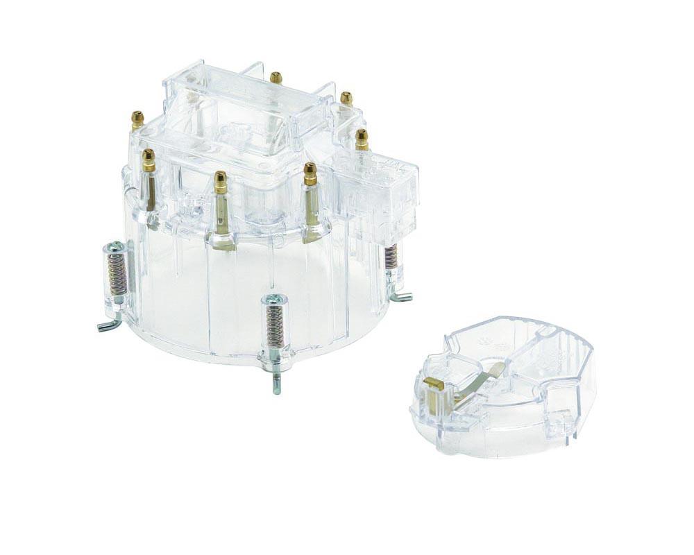 Mr. Gasket Clear Distributor Cap - HEI style