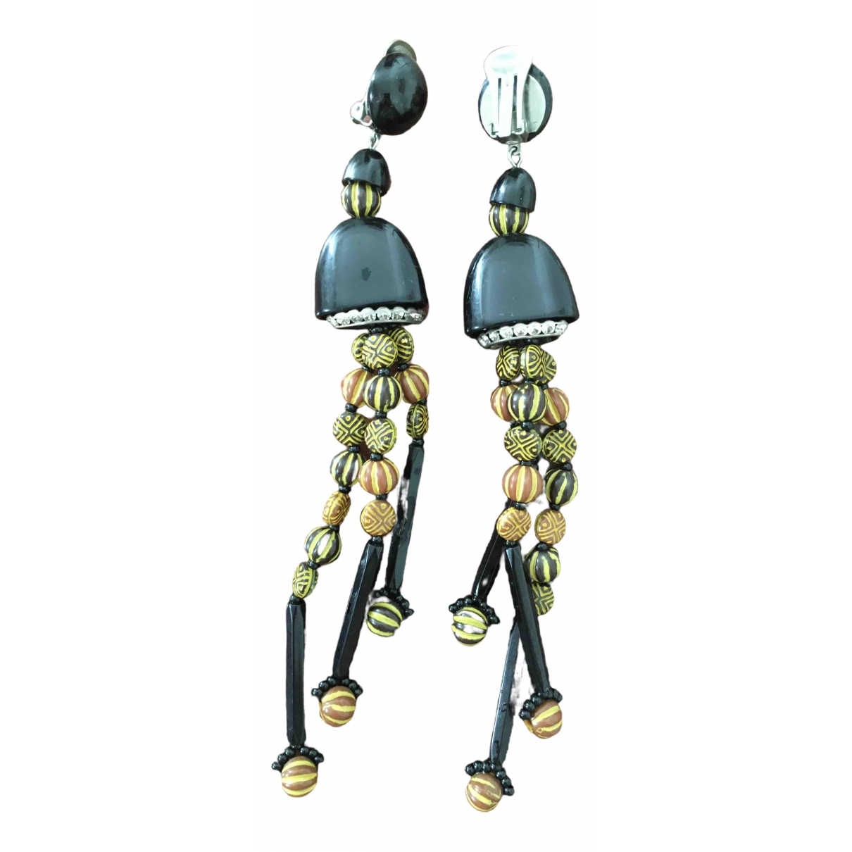 Angela Caputi \N Metal Earrings for Women \N