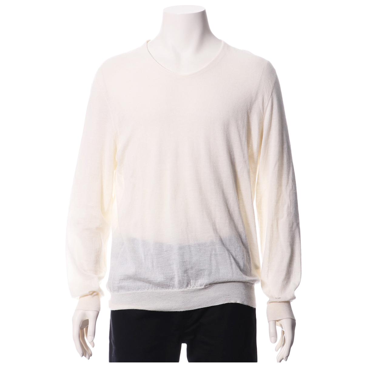 Louis Vuitton - Pulls.Gilets.Sweats   pour homme en cachemire - blanc