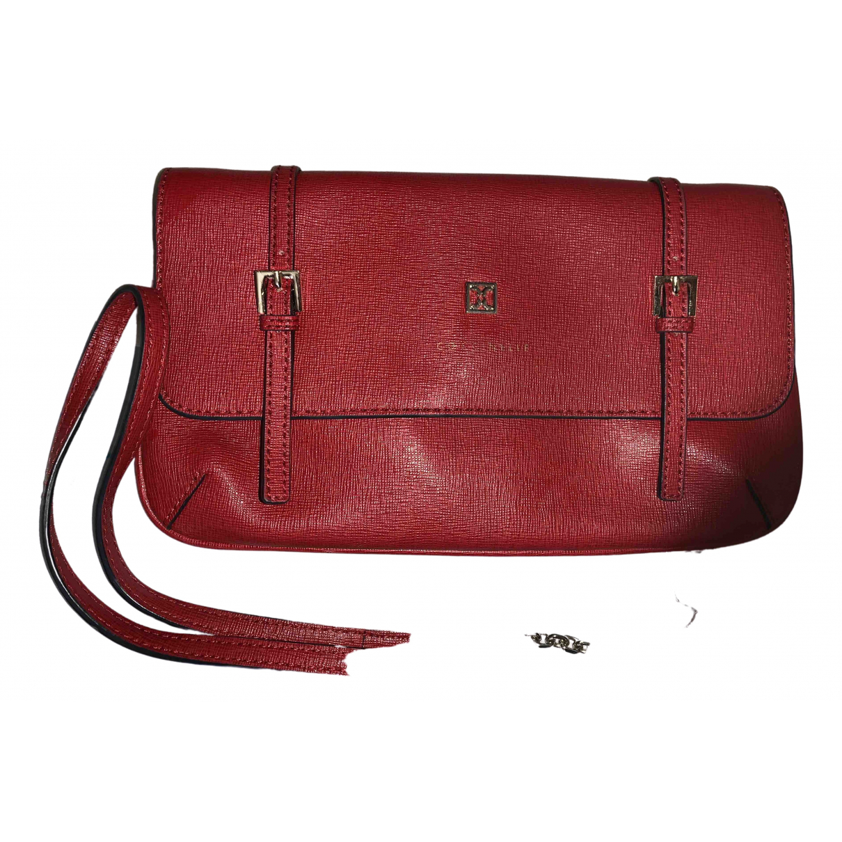 Coccinelle \N Clutch in  Rot Leder
