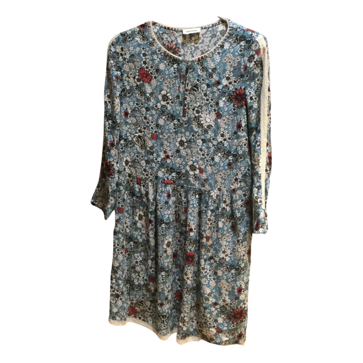 Zadig & Voltaire - Robe   pour femme - bleu