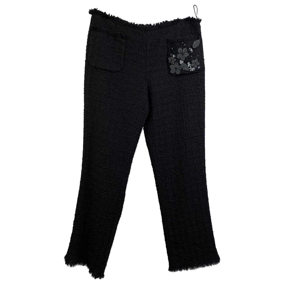 Moschino Cheap And Chic \N Black Cloth Trousers for Women M International