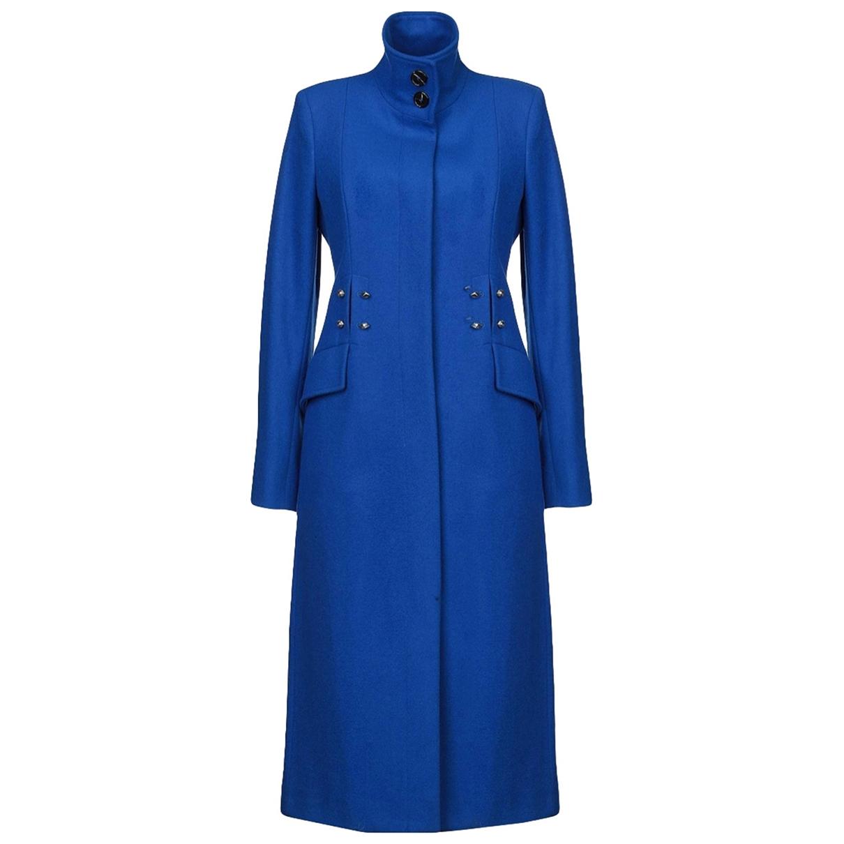 Just Cavalli - Manteau   pour femme en laine - bleu