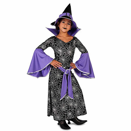 Enchanting Witch Child Costume Girls Costume, Small (4-6) , Multiple Colors
