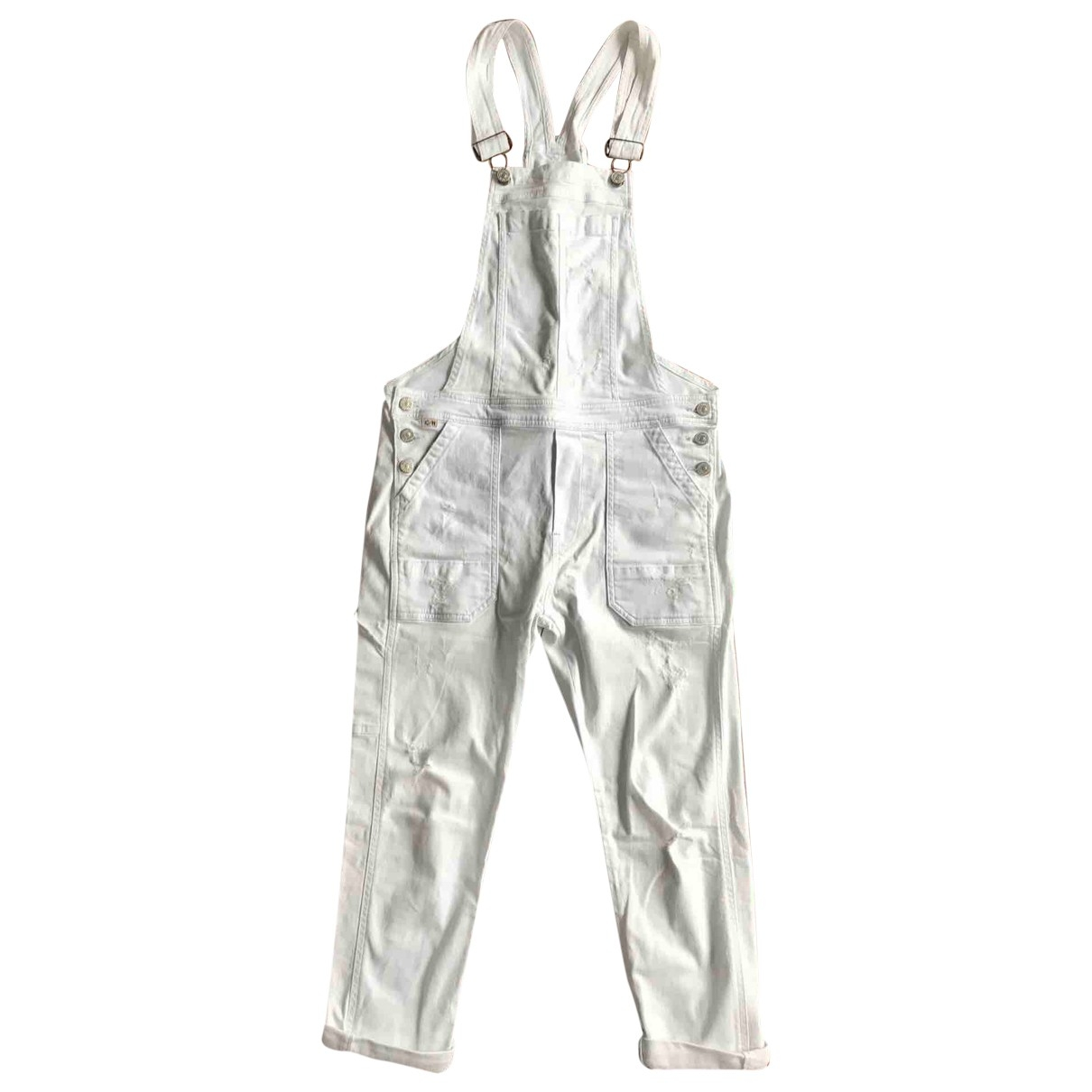 Citizens Of Humanity \N White Denim - Jeans jumpsuit for Women XS International