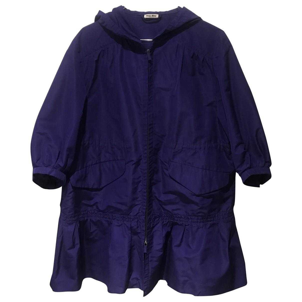 Miu Miu N Purple coat for Women 44 FR