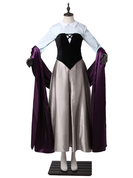 Milanoo Disney Cartoon Sleeping Beauty Princess Aurora Cosplay Costume