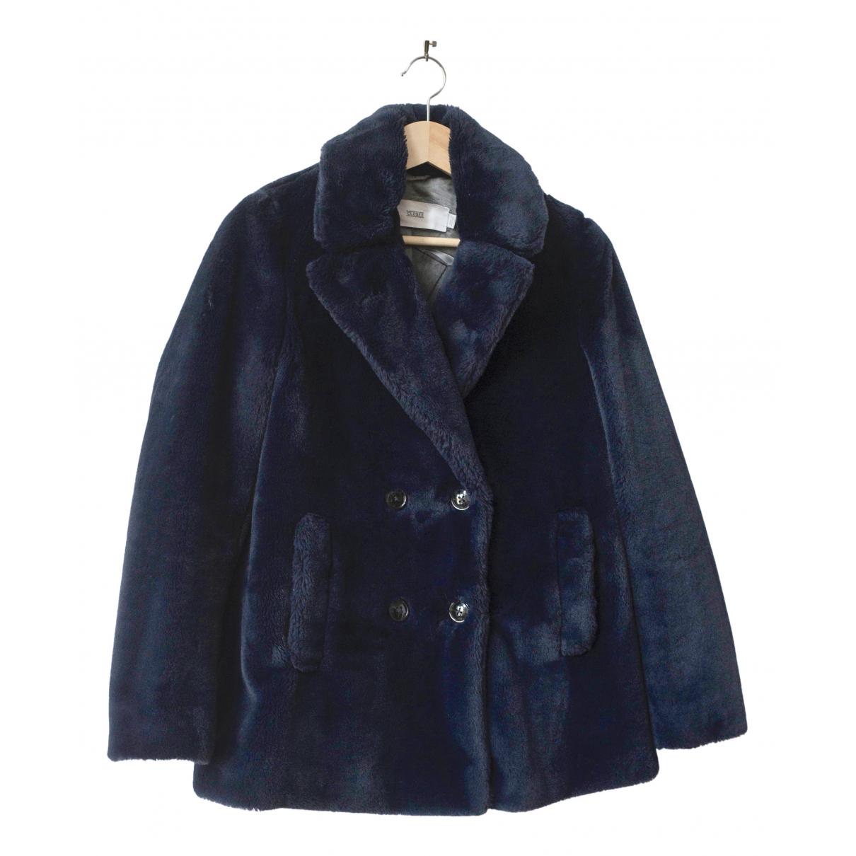 Closed \N Blue Faux fur coat for Women S International