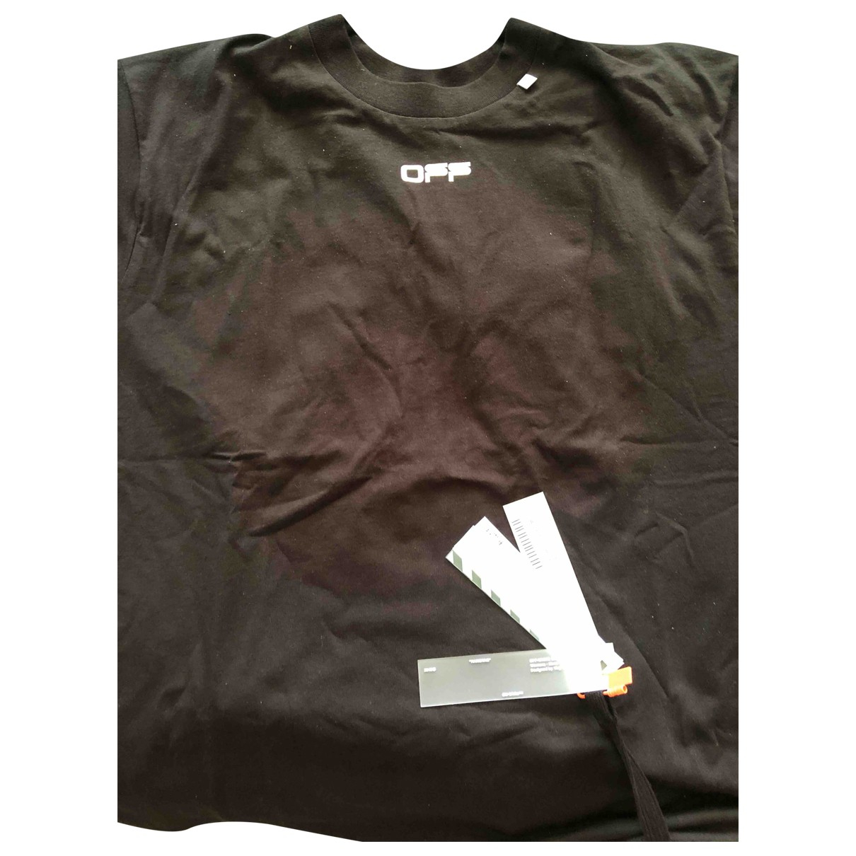 Off-white \N Black Cotton T-shirts for Men L International