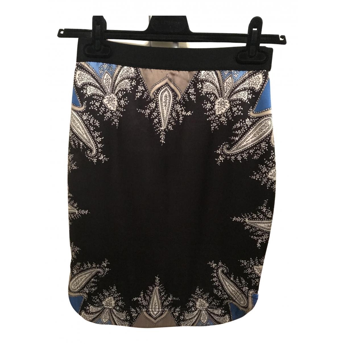 Givenchy - Jupe   pour femme en soie - bleu