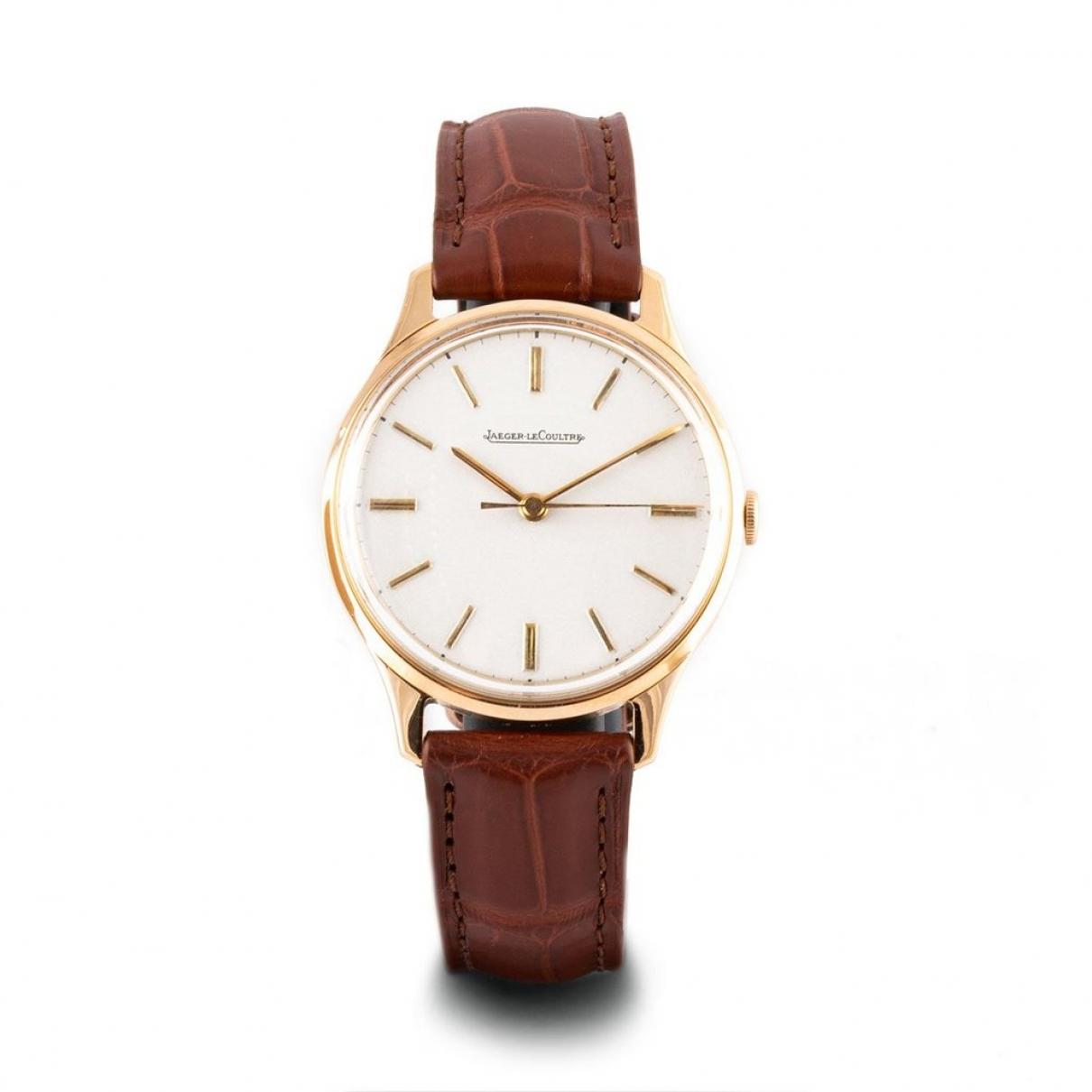 Jaeger-lecoultre - Montre Vintage pour femme en or rose - beige