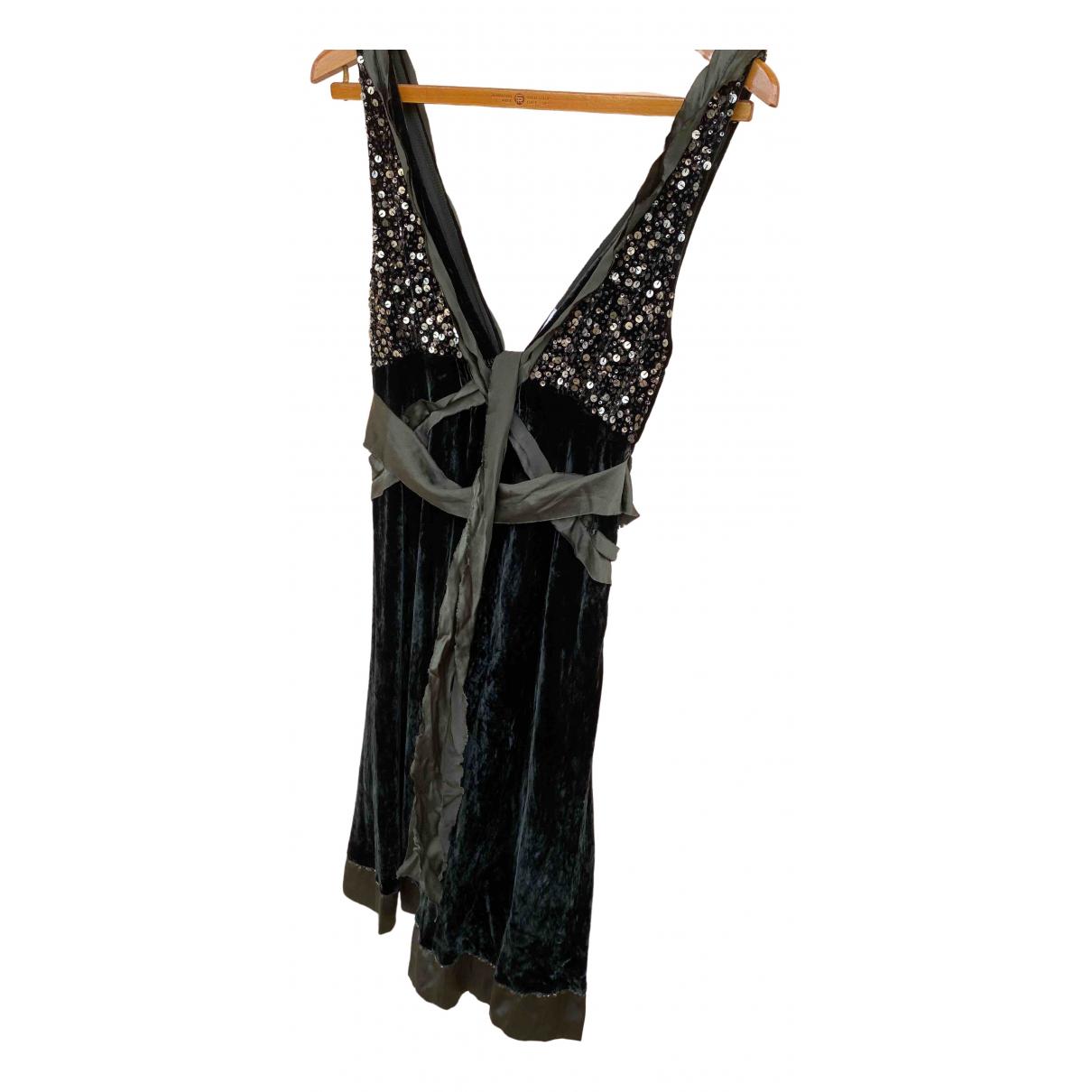 Pinko - Robe   pour femme en soie - kaki