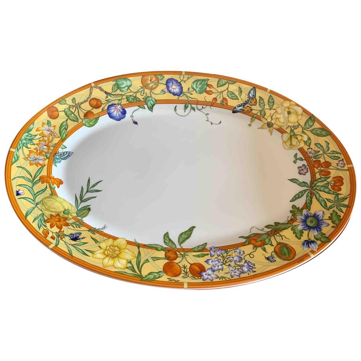 Hermes - Arts de la table   pour lifestyle en porcelaine - orange