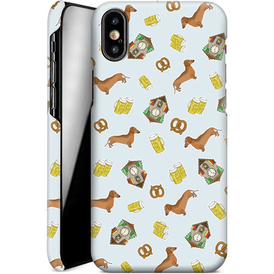 Apple iPhone X Smartphone Huelle - Germany von caseable Designs