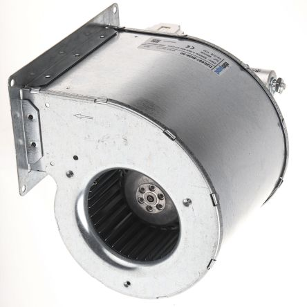 ebm-papst Centrifugal Fan 165 x 162 x 146mm, 435m³/h, 230 V ac AC (D2E 097 Series)