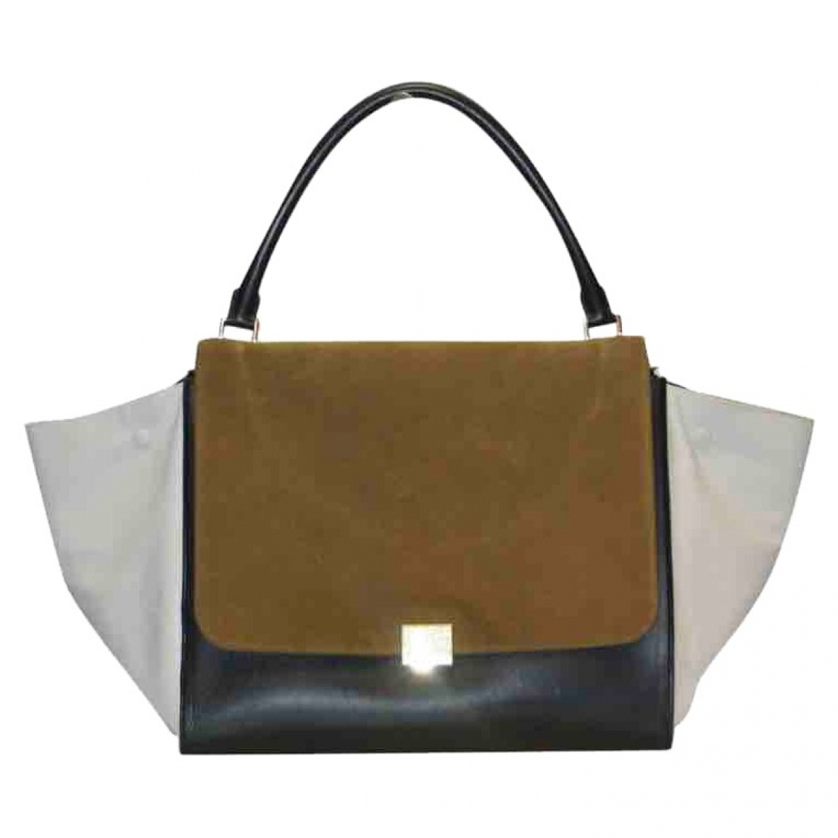 Celine Trapèze Multicolour Leather handbag for Women \N