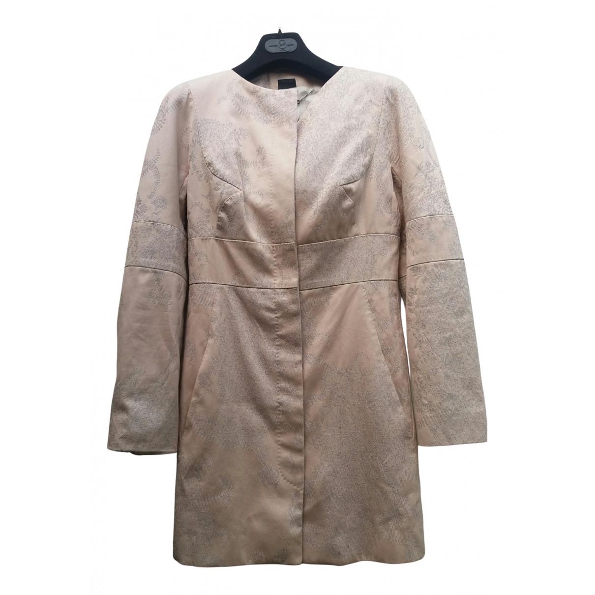Alexander Mcqueen - Manteau   pour femme en coton - rose