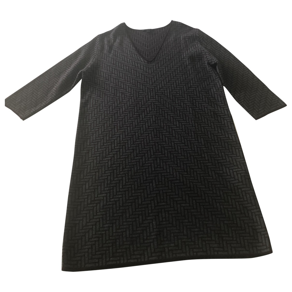 Cos - Robe   pour femme en laine - multicolore