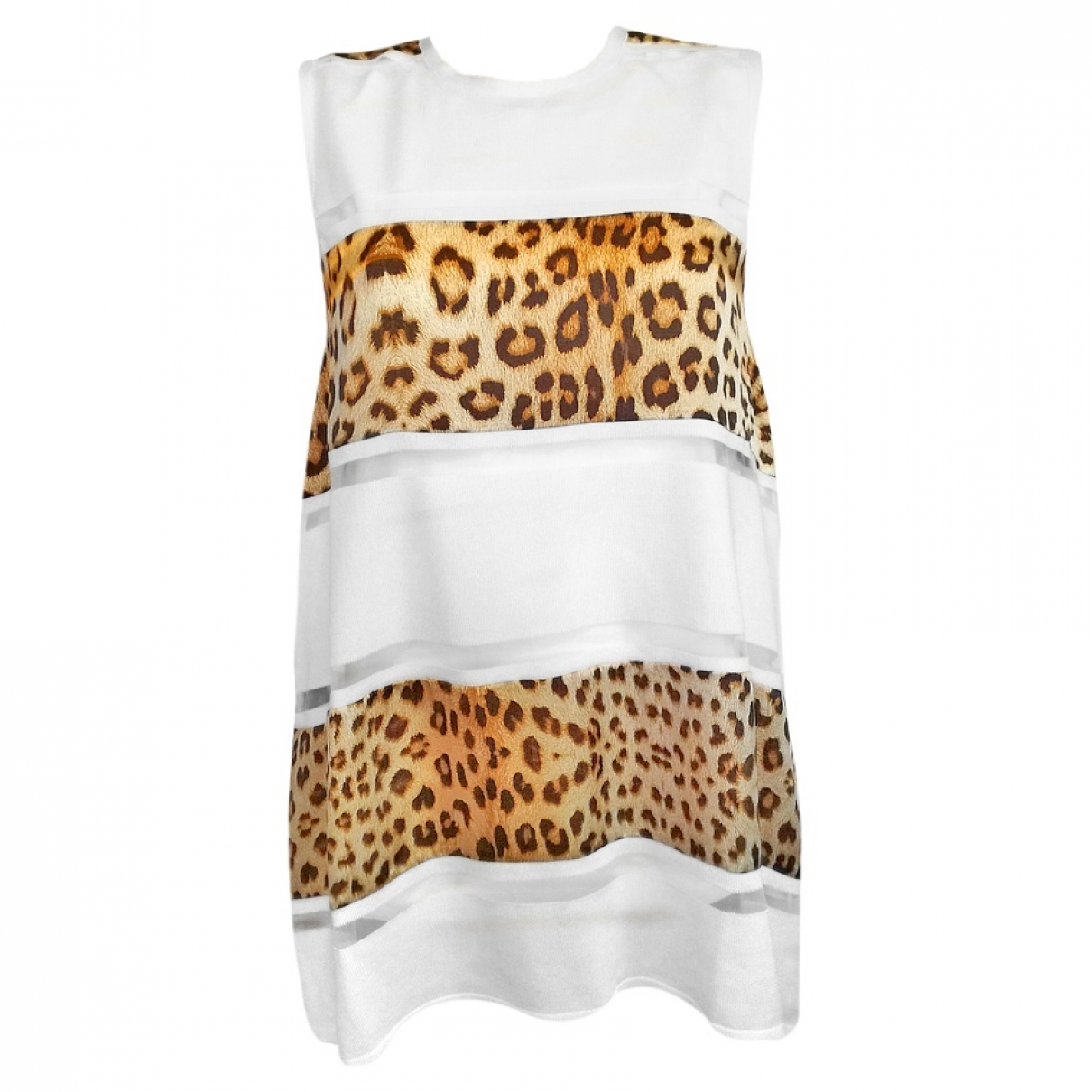 Roberto Cavalli \N White Cotton  top for Women L International