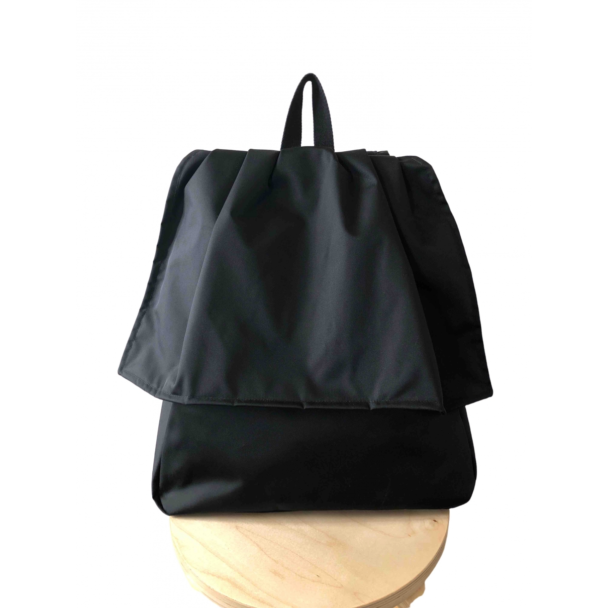 Raf Simons \N Black Cloth backpack for Women \N