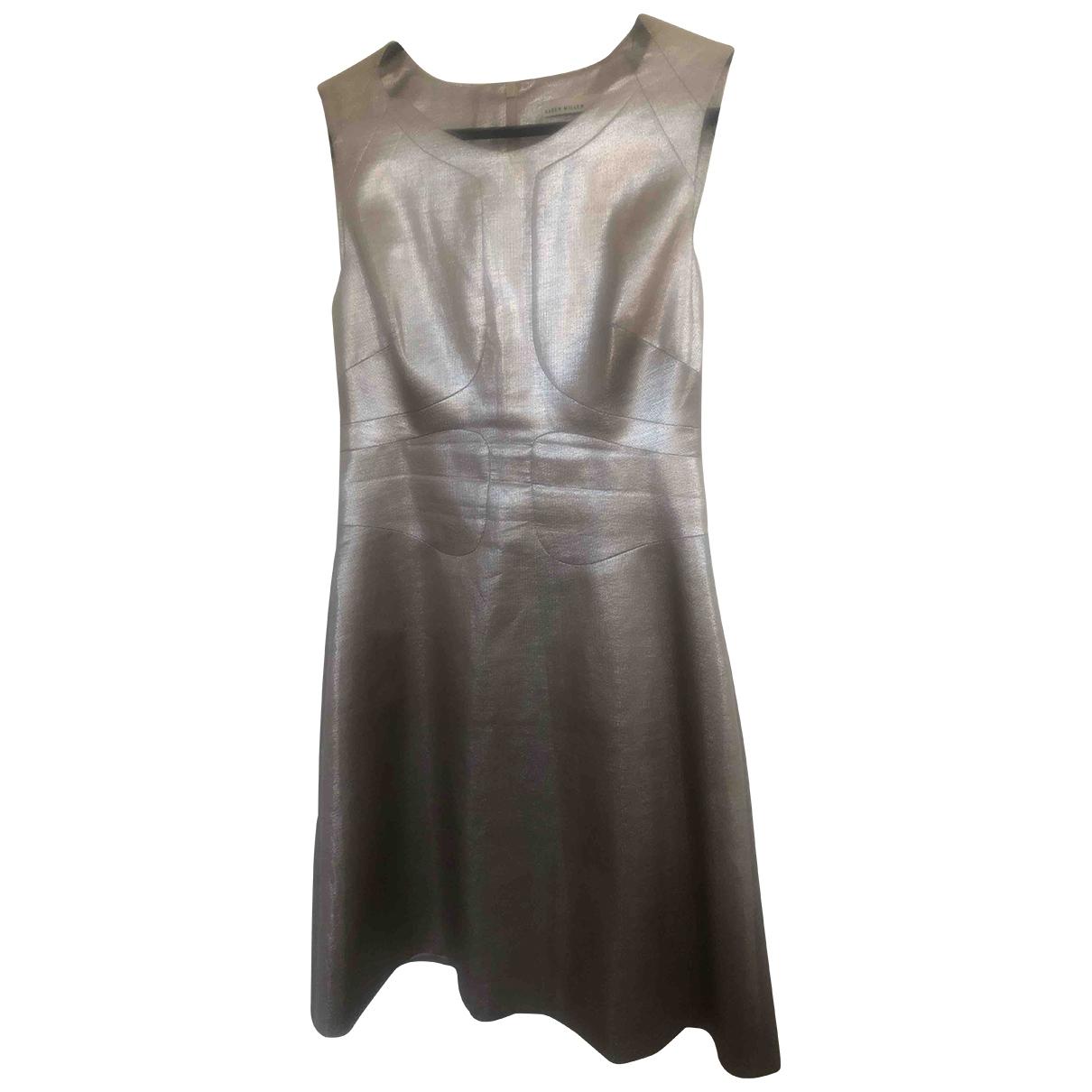 Karen Millen - Robe   pour femme - argente
