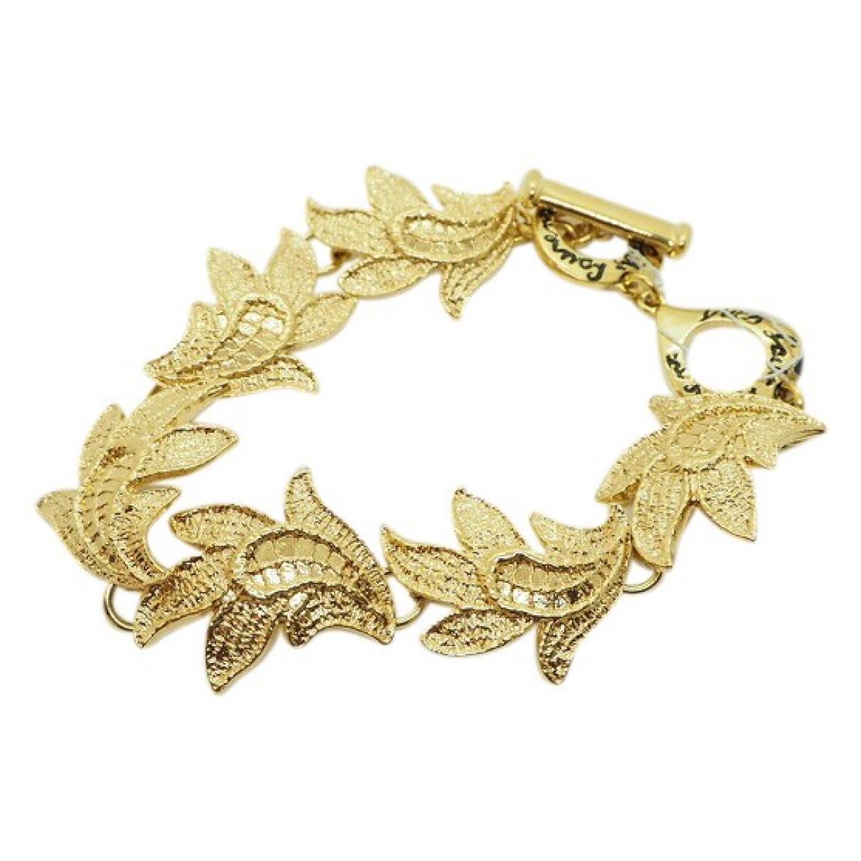 Yves Saint Laurent \N Armband in  Gold Vergoldet