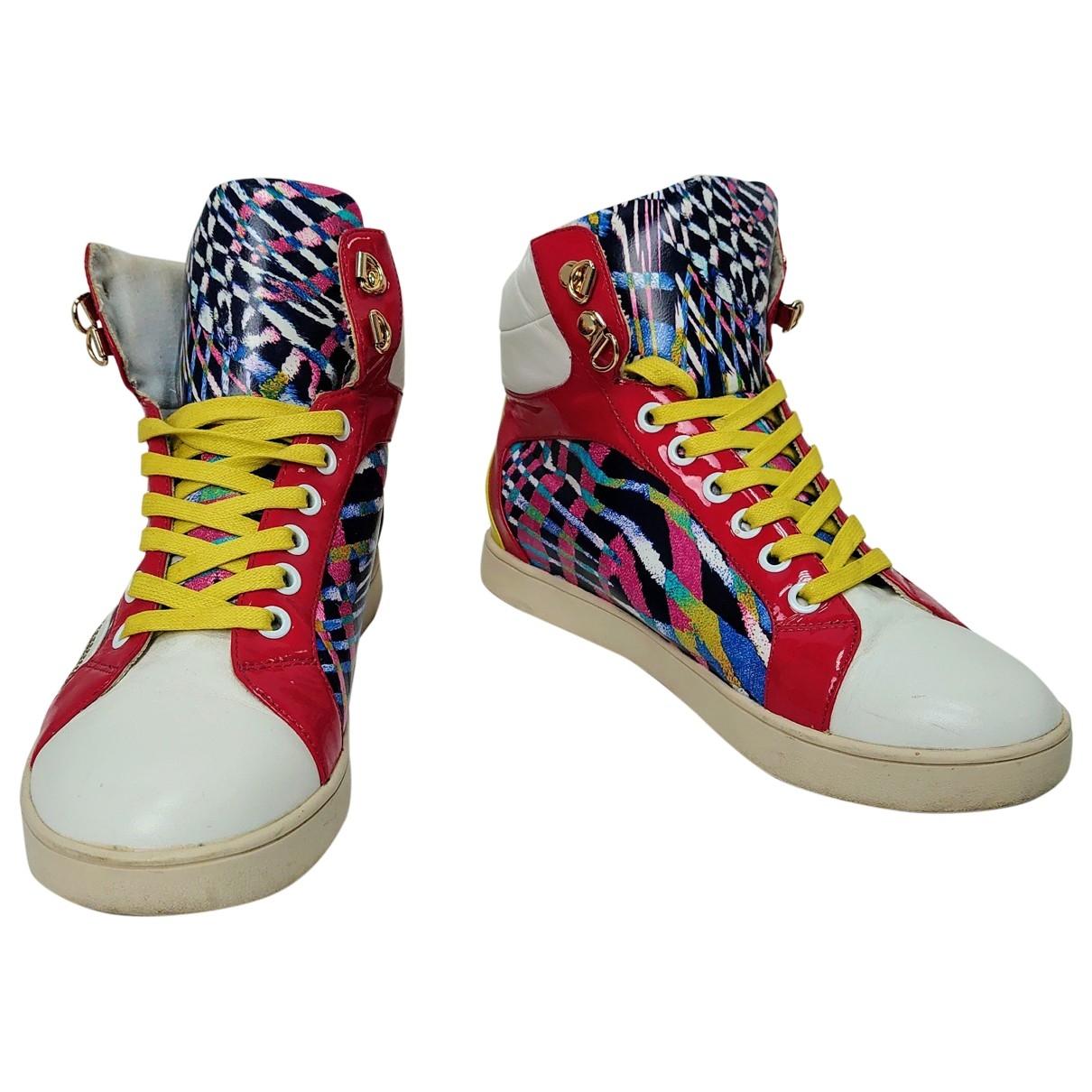Just Cavalli \N Sneakers in  Bunt Leder
