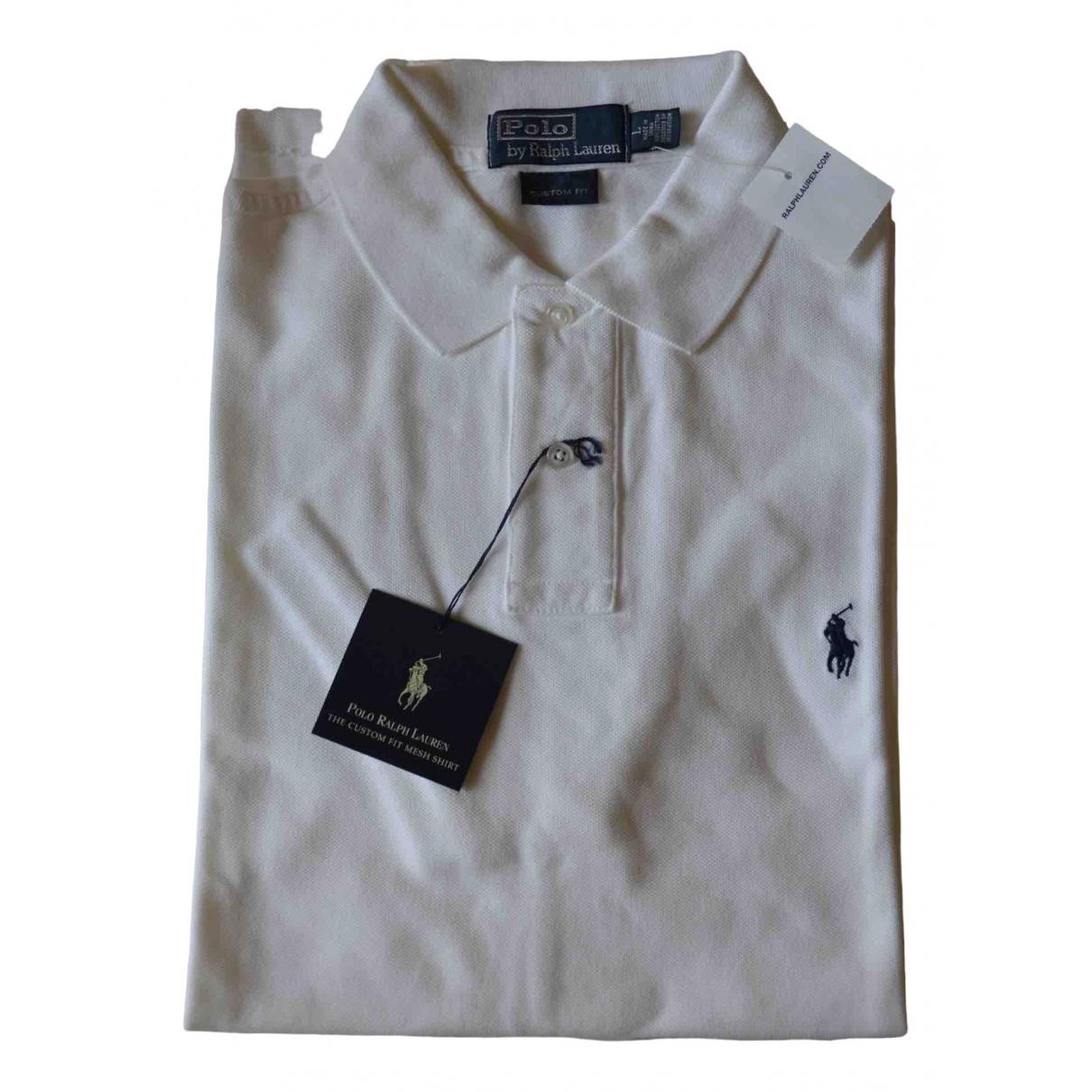 Polo en Algodon Blanco Polo Ralph Lauren