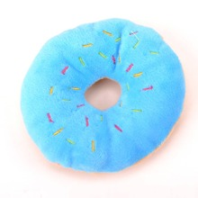 1pc Donuts Shaped Dog Sound Toy