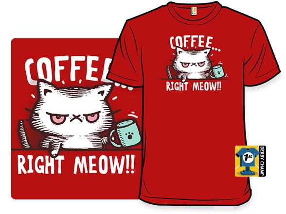 Catffeine T Shirt