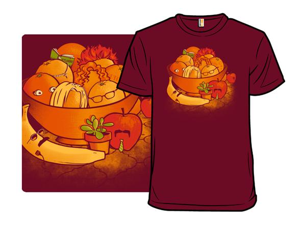 Still Life In Orange T Shirt