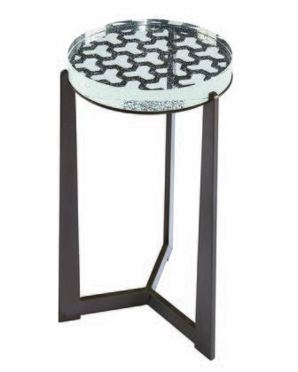 238363-0027 Geode Crystal Spot Table in