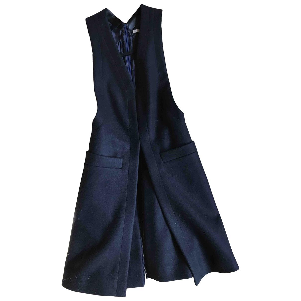 Alaia - Manteau   pour femme en cachemire - noir