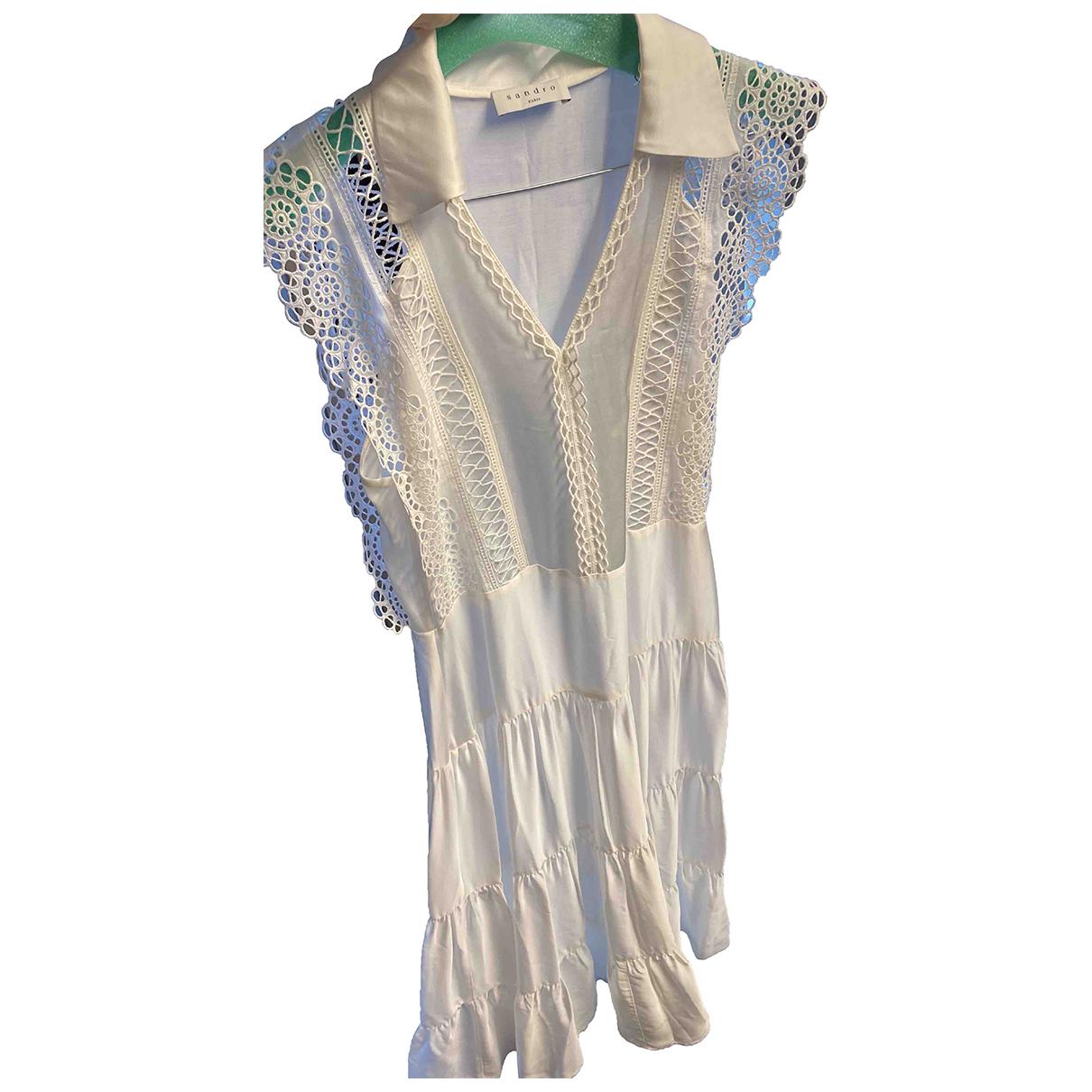 Sandro Spring Summer 2020 White skirt for Women 36 FR