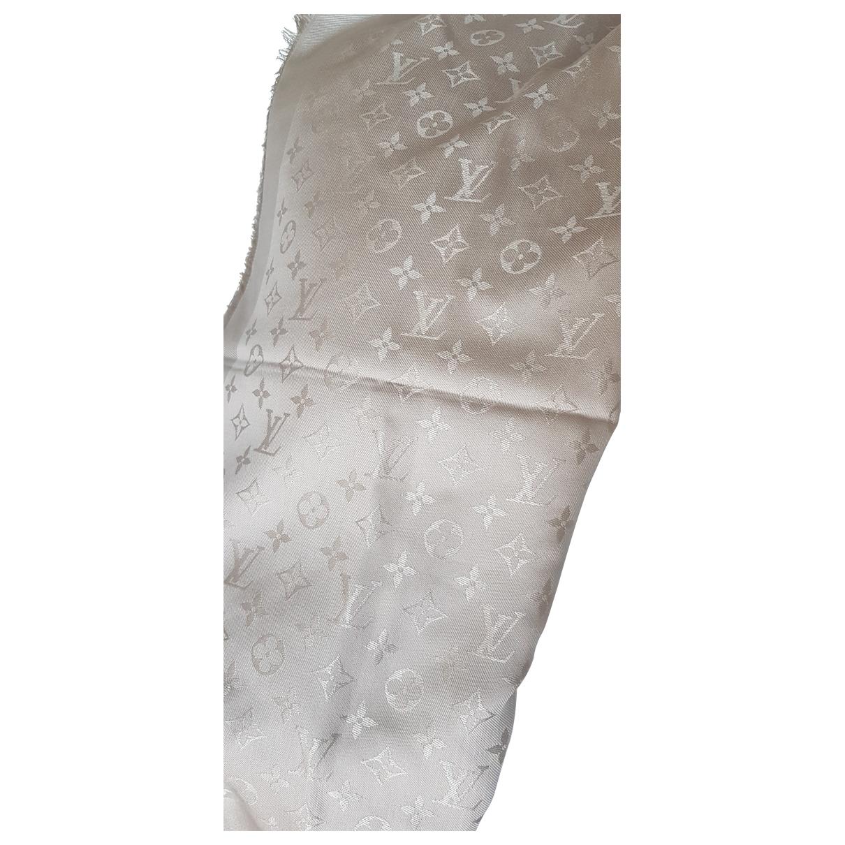 Louis Vuitton Chale Monogram Schal Grau