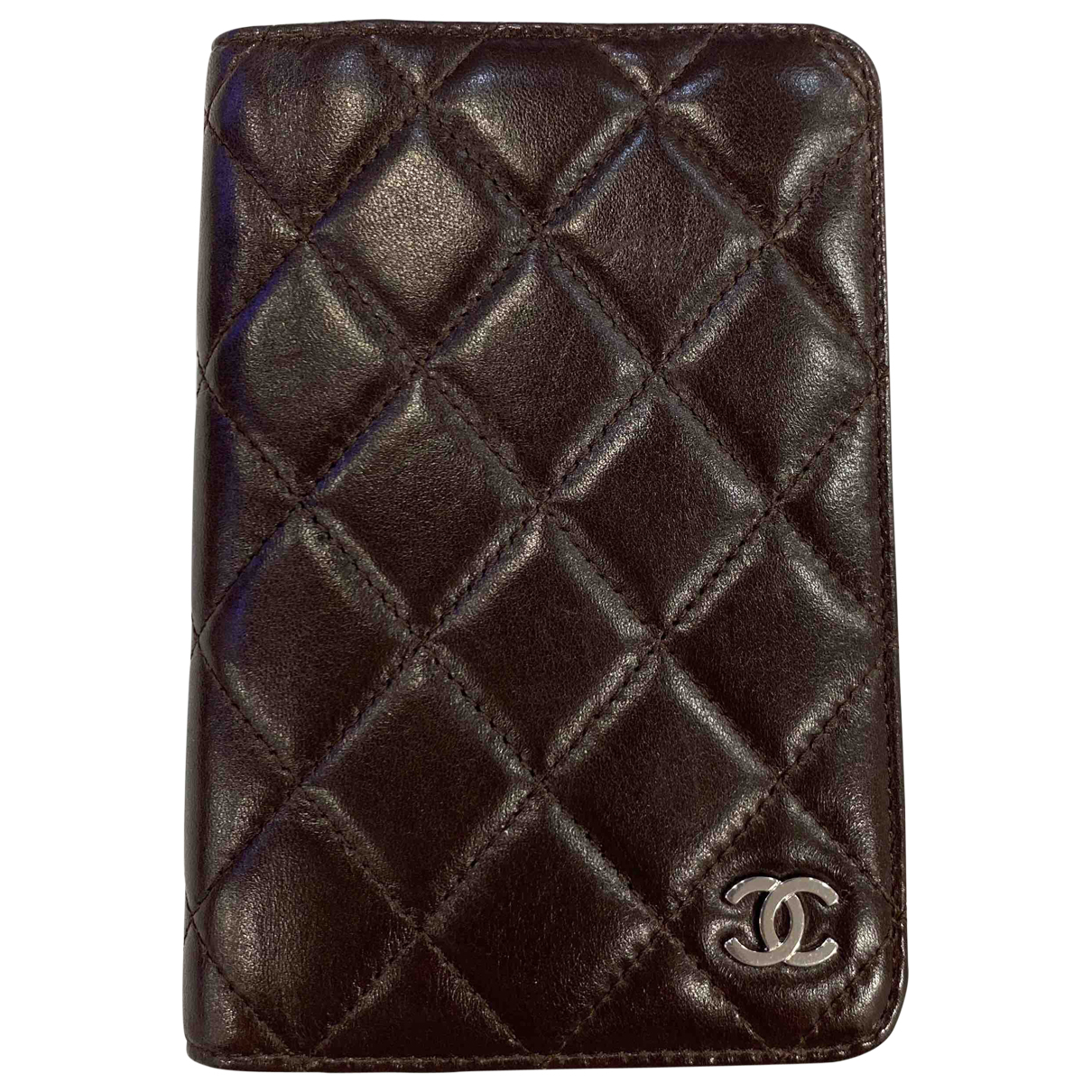 Chanel \N Brown Leather Purses, wallet & cases for Women \N